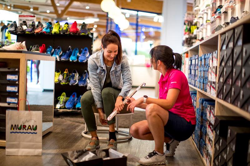 Schuhfitting